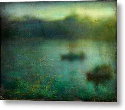 Seascape #23. Retreat Pond Metal Print