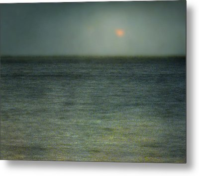 Seascape #5. Sun Sea Horizon Metal Print by Alfredo Gonzalez