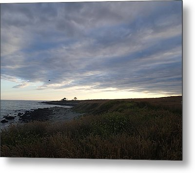 Metal Print featuring the photograph Seascape by Robert Nickologianis