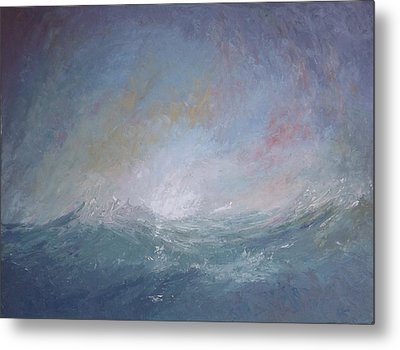 Seascape1 Metal Print by Sean Conlon