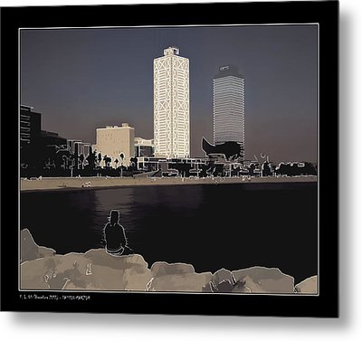 Metal Print featuring the photograph Seaside Boulevard by Pedro L Gili