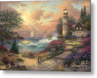 Seaside Dream Metal Print by Chuck Pinson