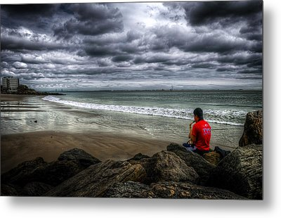 Seaside Music Metal Print by Svetlana Sewell