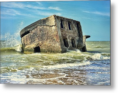 Seaside Northern Forts Metal Print by Gynt