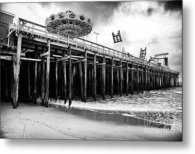 Seaside Pier Metal Print by John Rizzuto
