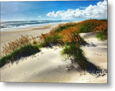 Seaside Serenity I - Outer Banks Metal Print