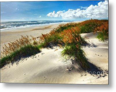 Seaside Serenity I - Outer Banks Metal Print by Dan Carmichael
