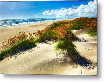 Seaside Serenity II - Outer Banks Metal Print