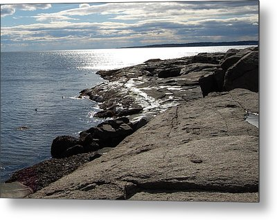 Metal Print featuring the photograph Seasider by Mim White