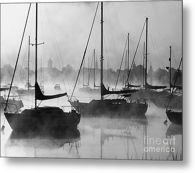 Seasmoke Metal Print
