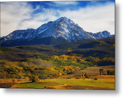 Seasons Change Metal Print by Darren  White
