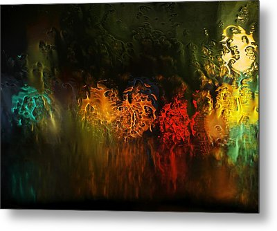 Metal Print featuring the photograph Seasons Fireballs by Peter Thoeny