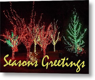 Seasons Greetings Metal Print by Darren Robinson