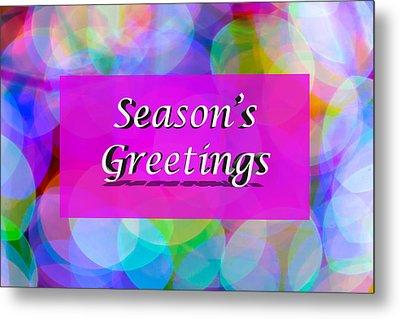 Seasons Greetings Metal Print