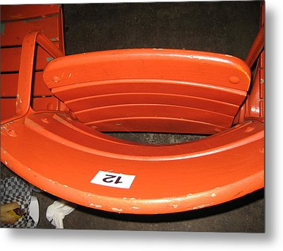 Seats - Nationals Park - 01131 Metal Print by DC Photographer