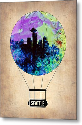 Seattle Air Balloon Metal Print