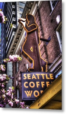 Seattle Coffee Works Metal Print by Spencer McDonald