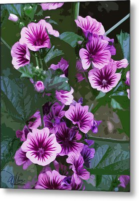 Seattle Hollyhocks Metal Print