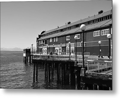 Metal Print featuring the photograph Seattle Pier by Kirt Tisdale