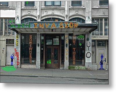 Seattle Publix Hotel Metal Print by John Hines