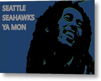 Seattle Seahawks Ya Mon Metal Print by Joe Hamilton