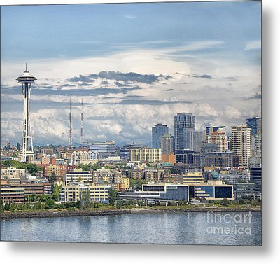 Seattle Skyline Metal Print by JRP Photography