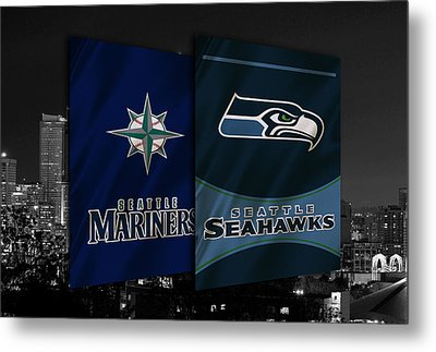 Seattle Sports Teams Metal Print by Joe Hamilton