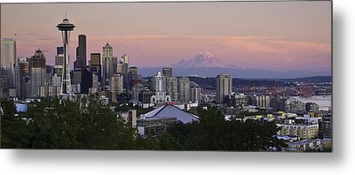 Seattle Sunset - Kerry Park Metal Print