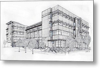 Seattle University Law School Metal Print by Inger Hutton
