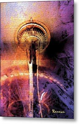 Seattle Wa Space Needle Metal Print
