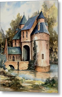 Secluded Castle Metal Print by Sam Sidders