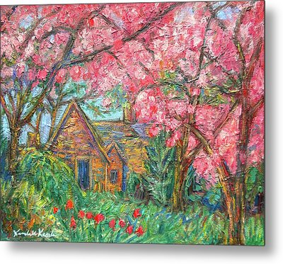 Secluded Home Metal Print