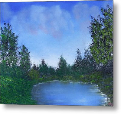 Secluded Paradise Metal Print by Jennifer Muller