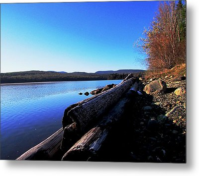 Second Shoreline Metal Print by Will Boutin Photos