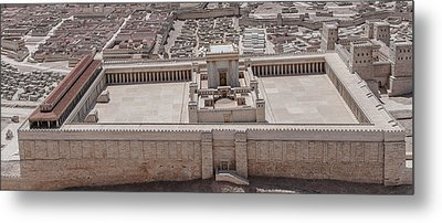 Second Temple Metal Print by Sergey Simanovsky