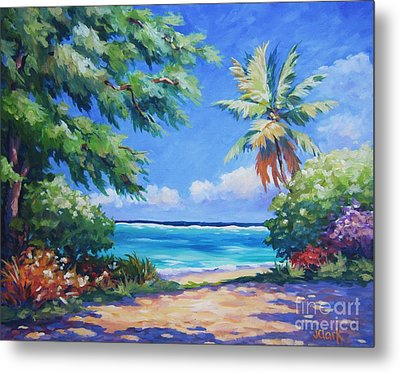 Secret Beach  Metal Print by John Clark