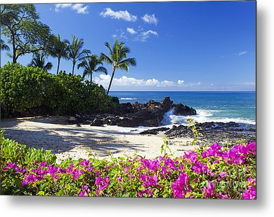 Secret Beach Makena Metal Print