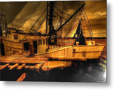 Secret Catch Metal Print by Dennis Baswell