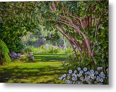 Secret Garden Metal Print by Omaste Witkowski