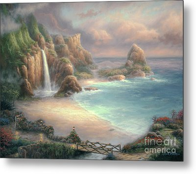 Secret Place Metal Print by Chuck Pinson