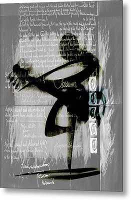 Secret Songs Metal Print by Georgiana Romanovna