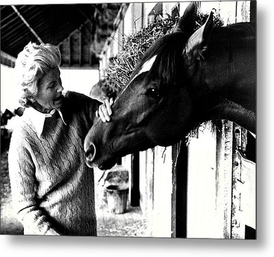 Secretariat Vintage Horse Racing #20 Metal Print by Retro Images Archive