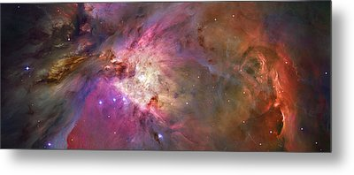 Secrets Of Orion Metal Print
