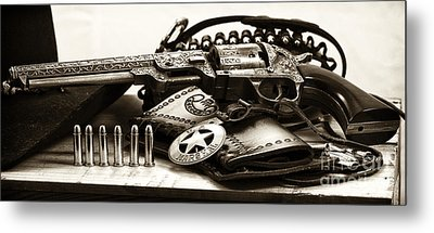 Security Metal Print by John Rizzuto