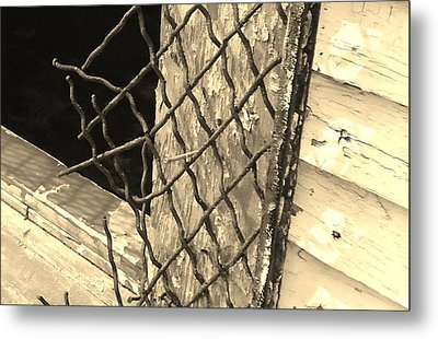 Security? Metal Print by Katie Spicuzza