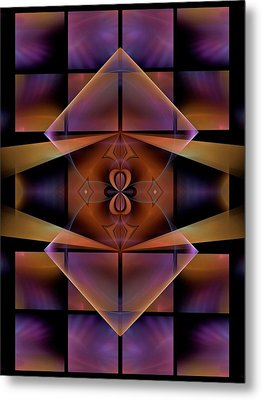 Security-panel-1-left-or-rightbb Metal Print by Bill Campitelle