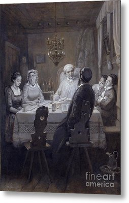 Seder - The Passover Meal Metal Print