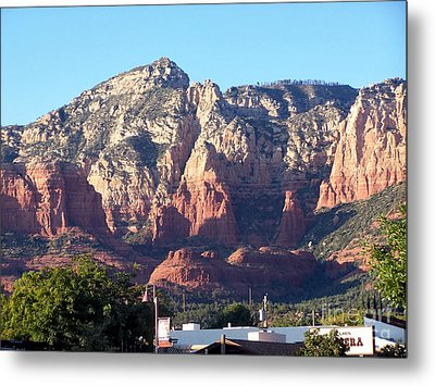 Metal Print featuring the photograph Sedona 3 by Tom Doud