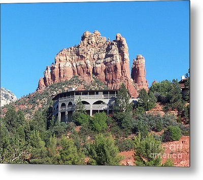 Metal Print featuring the photograph Sedona 4 by Tom Doud