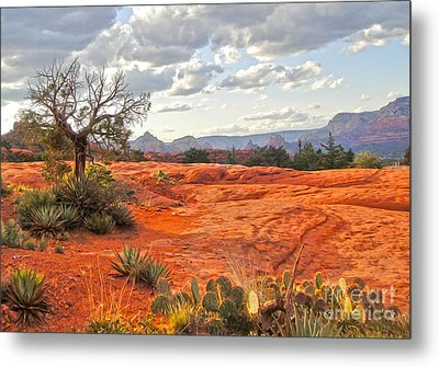 Sedona Arizona Dead Tree - 04 Metal Print by Gregory Dyer